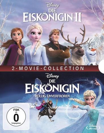Die Eiskönigin 1+2 (Blu-ray)