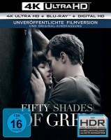 Fifty Shades of Grey 1+2 Set / Geheimes Verlangen + Gefährliche Liebe 4K Ultra HD Blu-ray + Blu-ray (Ultra HD Blu-ray)