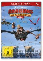 Dragons - Auf zu neuen Ufern - Staffel 5 / Vol. 3+4 - Set (DVD)