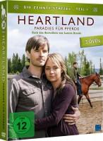 Heartland - Paradies für Pferde - Die komplette Staffel 10 / Teil 1+2 im Set (DVD)