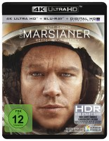 Der Marsianer - Rettet Mark Watney - 4K Ultra HD Blu-ray + Blu-ray (Ultra HD Blu-ray)