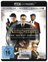 Kingsman - The Secret Service - 4K Ultra HD Blu-ray + Blu-ray (Ultra HD Blu-ray)
