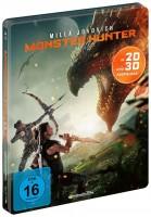 Monster Hunter - Blu-ray 3D + 2D / Limited Steelbook (Blu-ray)