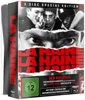 La Haine - Hass - 4K Ultra HD Blu-ray + Blu-ray / Special Edition inklusive T-Shirt (4K Ultra HD)