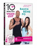 10 Minuten Workout - Bauch Beine Po (DVD)