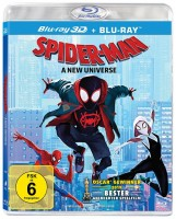 Spider-Man: A New Universe - Blu-ray 3D + 2D (Blu-ray)