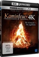 Kaminfeuer 4K - Die Schmiede & Die Jagdhütte - 4K Ultra HD Blu-ray + Blu-ray (4K Ultra HD)
