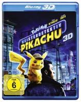 Pokémon Meisterdetektiv Pikachu 3D - Blu-ray 3D (Blu-ray)