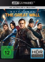 The Great Wall - 4K Ultra HD Blu-ray + Blu-ray (4K Ultra HD)