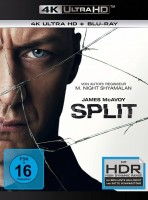 Split - 4K Ultra HD Blu-ray + Blu-ray (4K Ultra HD)