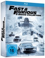 Fast & Furious - 8-Movie Collection (Blu-ray)