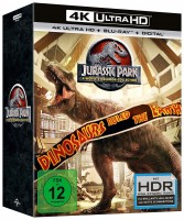 Jurassic Park - 25th Anniversary Collection / 4K Ultra HD Blu-ray + Blu-ray / Steelbook (4K Ultra HD)