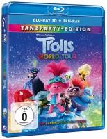 Trolls World Tour - Tanzparty-Edition / Blu-ray 3D + 2D (Blu-ray)