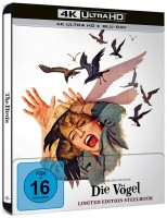 Die Vögel - 4K Ultra HD Blu-ray + Blu-ray / Limited Steelbook (4K Ultra HD)