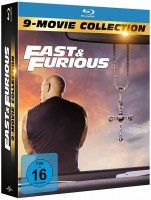 Fast & Furious - 9-Movie Collection (Blu-ray)
