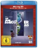 Die Monster AG - Blu-ray 3D + 2D (Blu-ray)