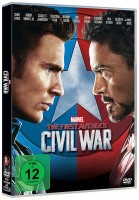 The First Avenger: Civil War (DVD)