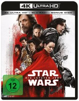 Star Wars: Episode VIII - Die letzten Jedi - 4K Ultra HD Blu-ray + Blu-ray (4K Ultra HD)