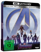 Avengers - Endgame - 4K Ultra HD Blu-ray / Steelbook (4K Ultra HD)