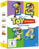 Toy Story 1-4 (DVD)