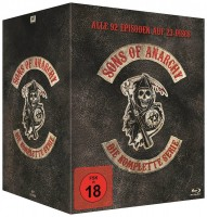 Sons of Anarchy - Die komplette Serie / Staffel 1-7 / 2. Auflage (Blu-ray)