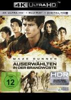 Maze Runner 1-3 Trilogie: Die Auserwählten im Labyrinth + ...in der Brandwüste + ...in der Todeszone – Set – 4K Ultra HD Blu-ray + Blu-ray (4K Ultra HD)