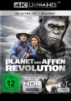 Planet der Affen: Prevolution + Revolution + Survival - Set - 4K Ultra HD Blu-ray + Blu-ray (4K Ultra HD)