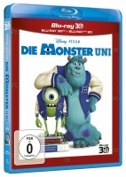 Die Monster AG + Die Monster Uni - Blu-ray 3D + 2D - Set (Blu-ray)