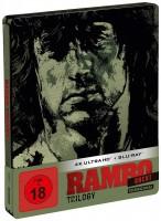 Rambo Trilogy - 4K Ultra HD Blu-ray + Blu-ray / Steelbook (4K Ultra HD)