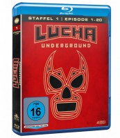 Lucha Underground - Staffel 1.1 / Episode 1-20 (Blu-ray)