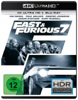 Fast & Furious 7 - 4K Ultra HD Blu-ray + Blu-ray (4K Ultra HD)