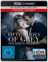 Fifty Shades of Grey - Gefährliche Liebe - 4K Ultra HD Blu-ray + Blu-ray / Unmaskierte Filmversion + Kinofassung (4K Ultra HD)
