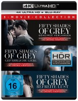 Fifty Shades of Grey - 3-Movie Collection / 4K Ultra HD Blu-ray + Blu-ray (4K Ultra HD)