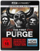 The First Purge - 4K Ultra HD Blu-ray + Blu-ray (4K Ultra HD)