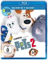Pets 2 - Blu-ray 3D + 2D (Blu-ray)