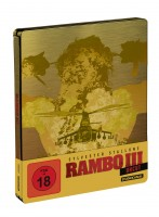 Rambo - First Blood + Rambo II - Der Auftrag + Rambo III - Limited Steelbook Edition - Teil 1+2+3 Set (Blu-ray)