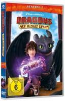 Dragons - Staffel 1+2+3+4+5 im Set / Die Reiter von Berk / Die Wächter von Berk / Auf zu neuen Ufern (DVD)