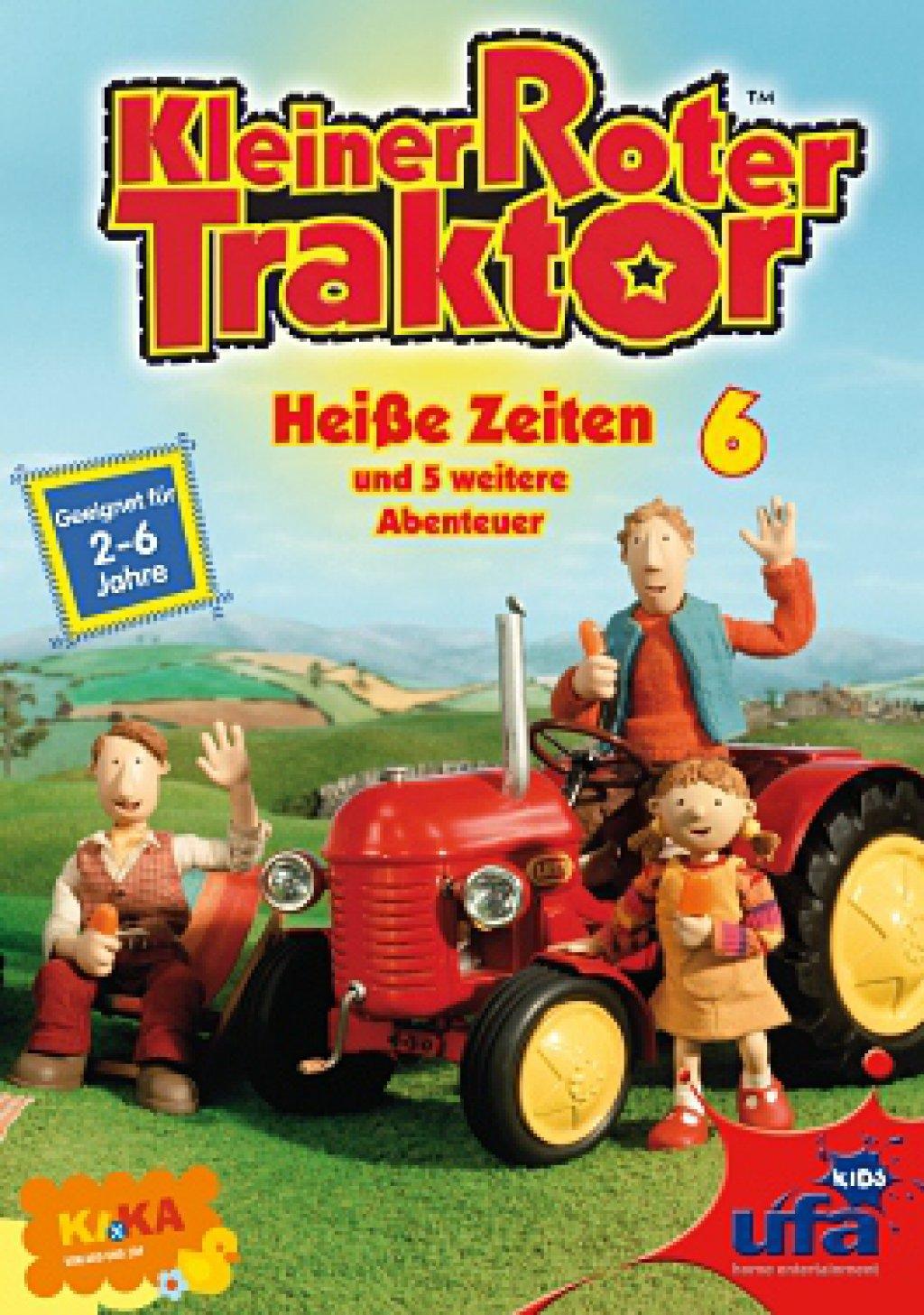 kleiner roter traktor  vol 06  heiße zeiten dvd