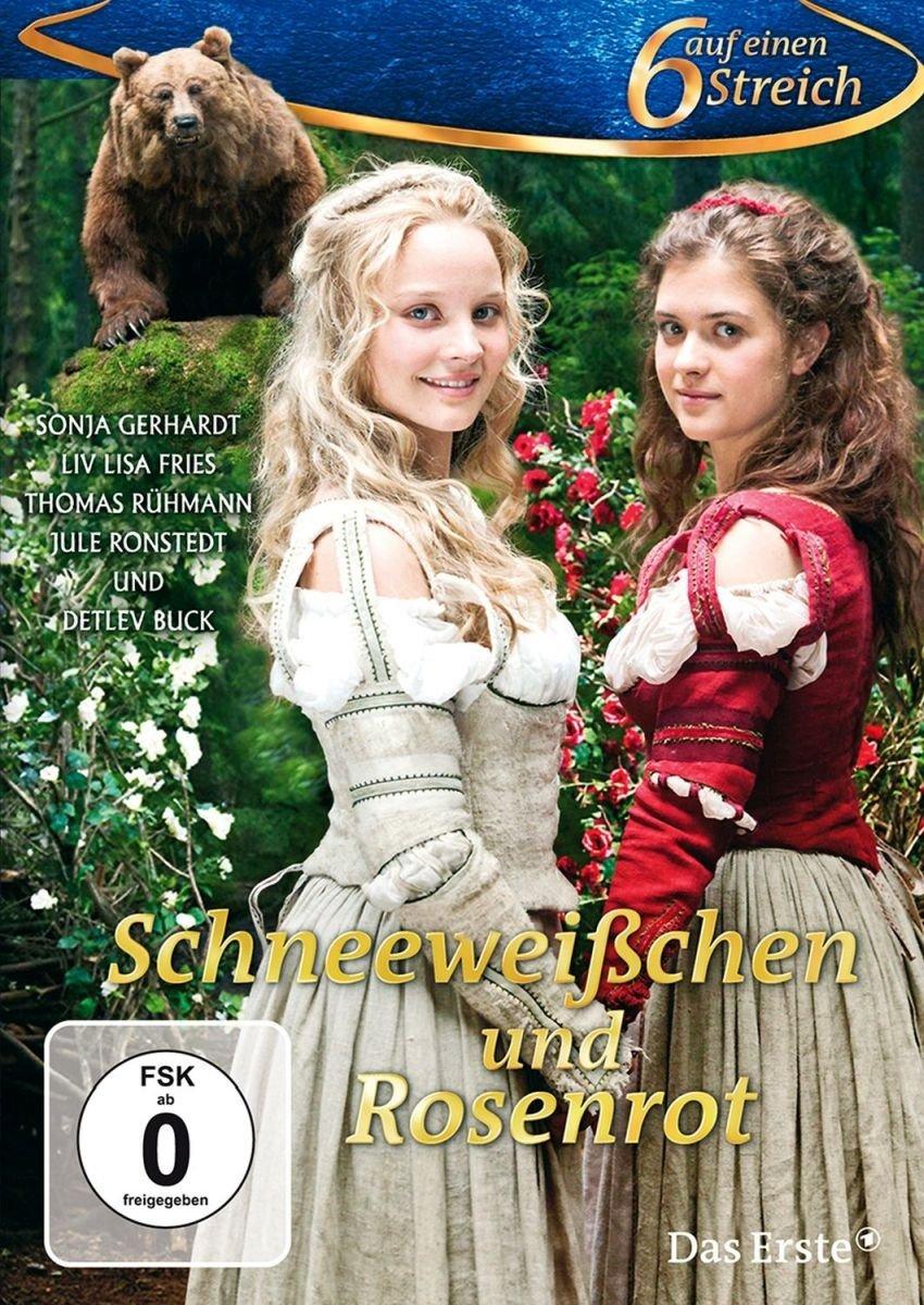 schneeweißchen und rosenrot  6 auf einen streich dvd