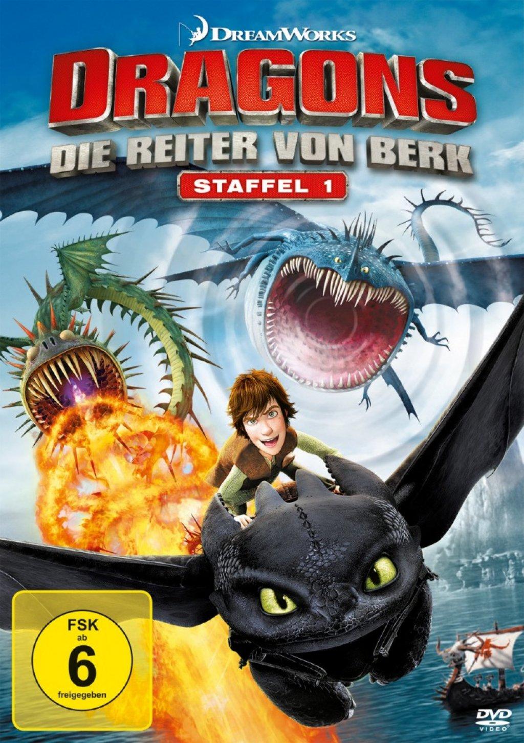 Dragons - Die Reiter von Berk - Staffel 1 (DVD)