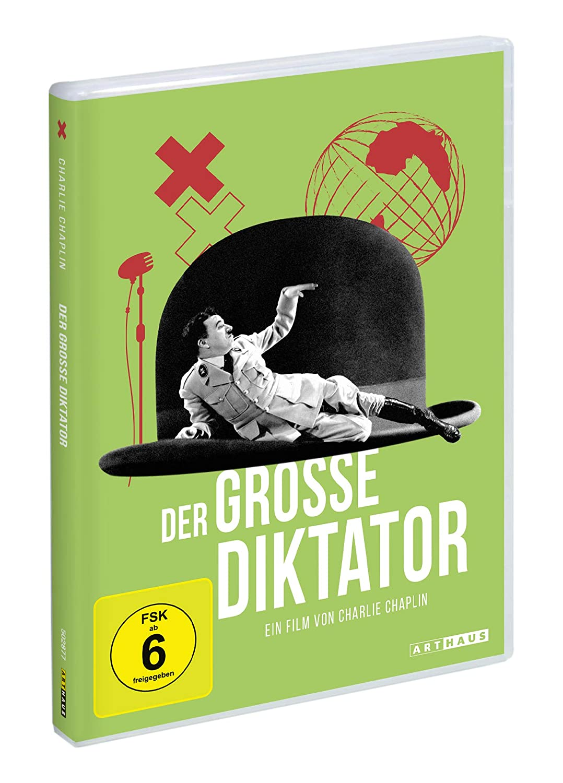 charlie chaplin - der große diktator (dvd)