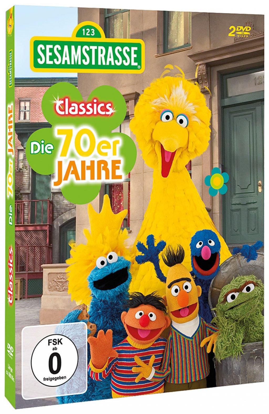 34f62e4e85 Sesamstraße Classics - Die 70er Jahre # 2-DVD-NEU | eBay