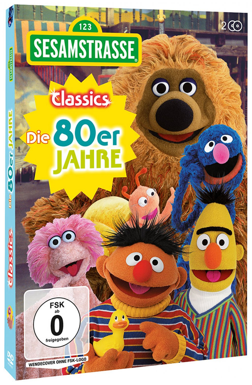 a51814ca12 Sesamstrasse Classics - Die 80er Jahre # 2-DVD-NEU | eBay