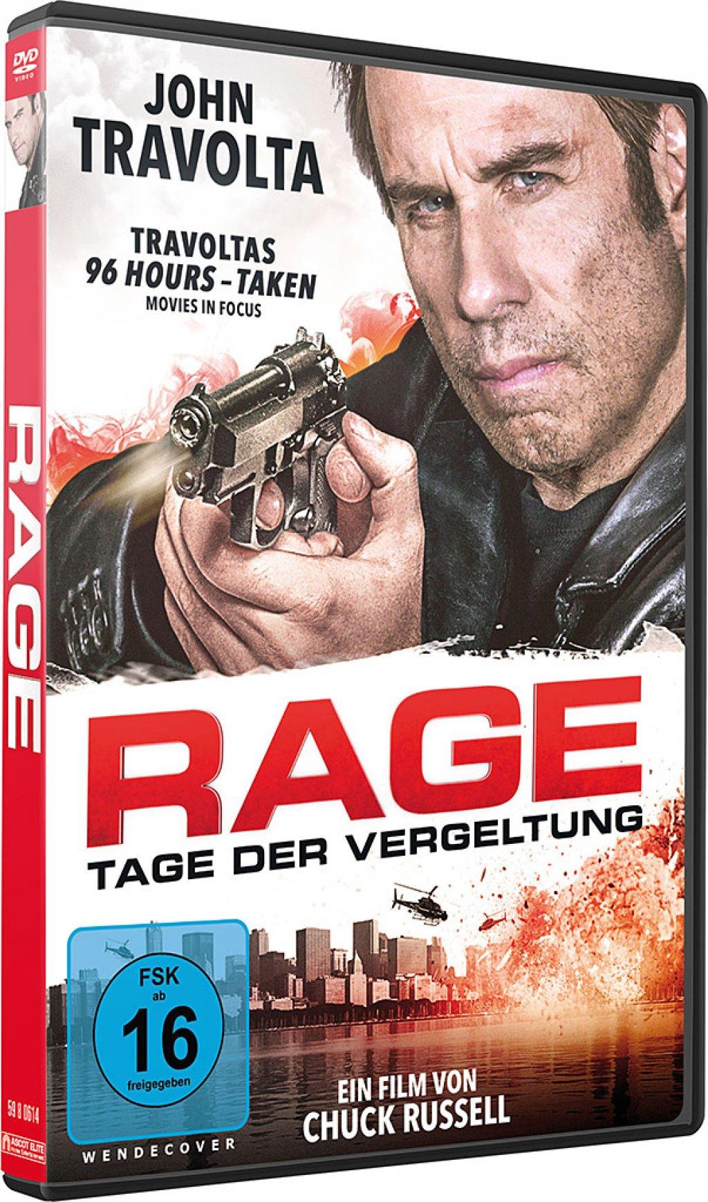Details Zu Rage Tage Der Vergeltung John Travolta Dvd Neu