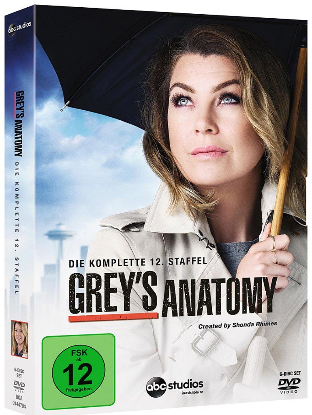Grey\'s Anatomy - Die jungen Ärzte - Season/Staffel 12 # 6-DVD-BOX ...