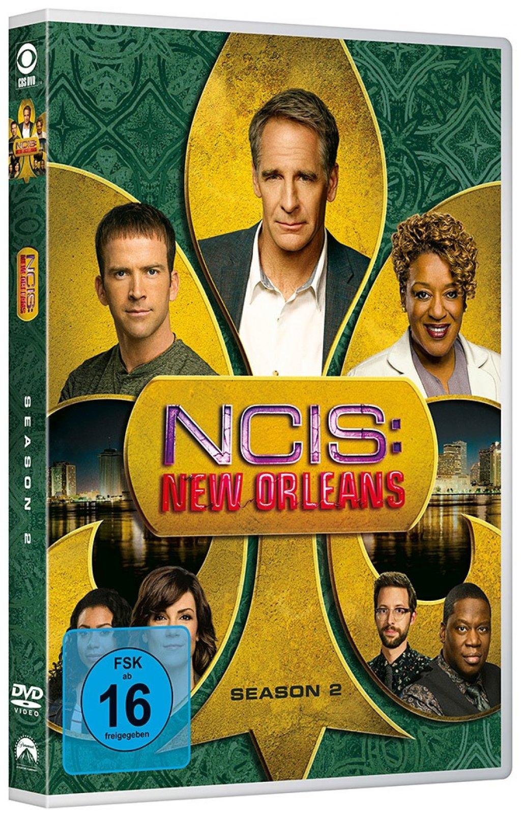 Navy CIS New Orleans - Season/Staffel 1+2+3 # 18-DVD-SET ...